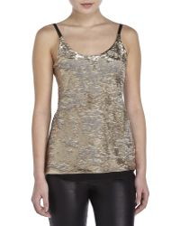 Maje | Sequin Top | Lyst