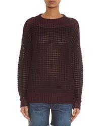 Isabel Marant Slater Linen-Blend Sweater - Lyst