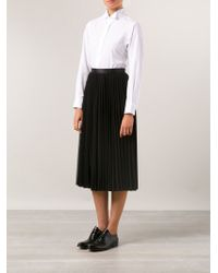 Junya Watanabe Pleated Skirt - Lyst