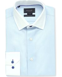 Duchamp Herringbone Slim-Fit Single-Cuff Shirt - For Men - Lyst