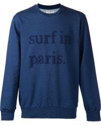 Cuisse De Grenouille - Surf in Paris Jumper - Lyst