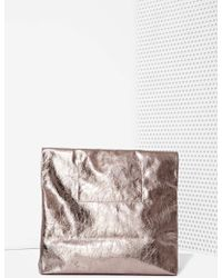 Nasty Gal Marie Turnor Feast Leather Bag - Lyst