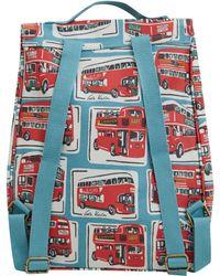 Cath Kidston - Blue London Buses Backpack - Lyst