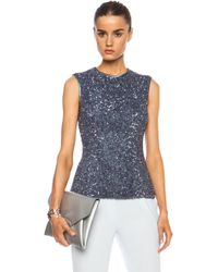 Rodarte Sequin Top - Lyst