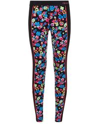 Juicy Couture Floral Sports Leggings multicolor - Lyst