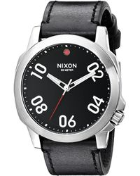 Nixon The Ranger 45 Leather - Lyst