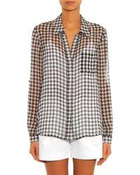 Diane von Furstenberg Lorelei Shirt - Lyst
