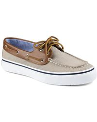 Sperry Top-sider Bahama 2-Eye Chambray Boat Shoes - Lyst