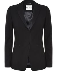 Reiss Pfeiffer Longline Slim Fit Blazer - Lyst