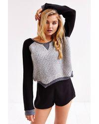 Somedays Lovin - Pretender Cropped Sweater - Lyst