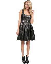Adam Lippes Metallic Dress - Lyst