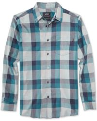 Wesc Darcy Longsleeve Plaid Shirt - Lyst