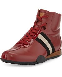 Bally Frendy Leather High-top Sneaker - Lyst
