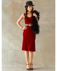 RRL Velvet Amatola Dress - Lyst