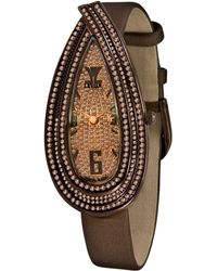 Le Vian - Women'S Cardona Chocolate Diamond (3-1/4 Ct. T.W.) Brown Satin Strap 27X55Mm - Lyst