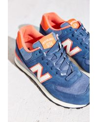 New Balance 574 Pennant Collection Running Sneaker - Lyst