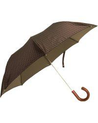 Barneys New York Square Pattern Umbrella