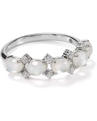 Nadri - Sterling Oasis Mother-of-pearl Ring - Lyst