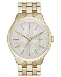 DKNY - 'park Slope' Bracelet Watch - Lyst