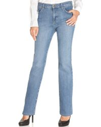 Not Your Daughter's Jeans Nydj Petite Jeans Marilyn Straight Leg Mediterranean Wash - Lyst