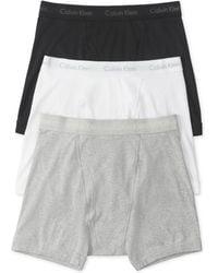 Calvin Klein Mens Classic Boxer Briefs 3pack - Lyst