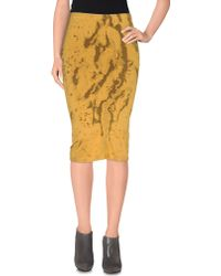 Wolford | Knee Length Skirt | Lyst