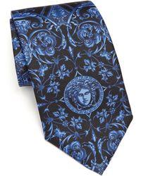 Versace   Baroque Medusa Tie   Lyst