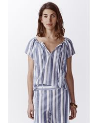 Faherty Brand Acadia Stripe Top - Lyst