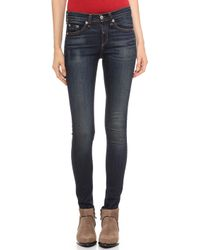 Rag & Bone The Skinny Jeans Chaucer - Lyst