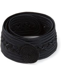 Yves Saint Laurent Vintage Braided Belt - Lyst