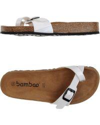 Bamboo | Thong Sandal | Lyst