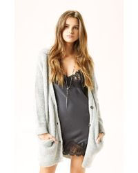 Free People Cloudy Day Cardigan - Lyst