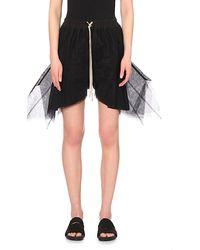 Rick Owens Mesh Shorts - For Women - Lyst