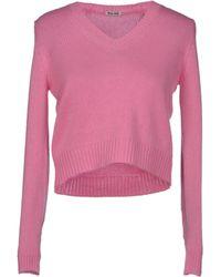 Miu Miu Sweater - Lyst