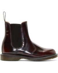 Dr. Martens Red Flora Chelsea Boots red - Lyst