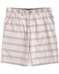 Tommy Hilfiger Classic Fit Stripe Shorts - Lyst