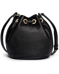 MICHAEL Michael Kors 'Jules' Leather Crossbody Bucket Bag - Lyst