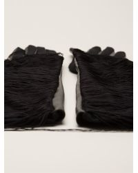 Lanvin Long Gloves - Lyst