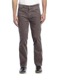 Billabong Straight Fifty Corduroy Pants in Gray for Men | Lyst