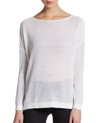 Alice + Olivia Boatneck Sweater - Lyst