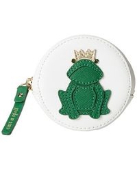 Kate Spade Wedding Belles Frog Coin Purse white - Lyst