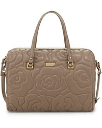 Kate Spade Sedgwick Lane Kensey Quilted Satchel Bag Warm Putty - Lyst