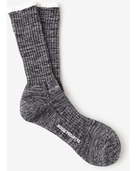 Norse Projects Bjarki Blend Charcoal Socks - Lyst