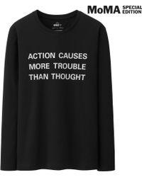 Uniqlo Men Sprz Ny Graphic T Shirt Jenny Holzer - Lyst