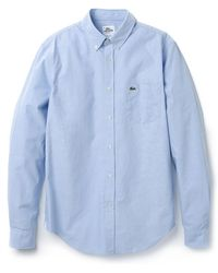 Lacoste Casual Oxford Shirt - Lyst