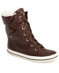 Keds - 'droplet' Leather Boot - Lyst