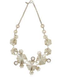 Maria Nilsdotter Octagonal Necklace - Lyst