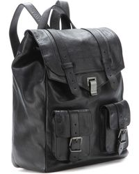 Proenza Schouler Ps1 Leather Backpack - Lyst