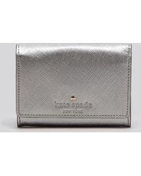 Kate Spade Card Case - Cedar Street Darla Metallic - Lyst