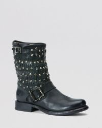 Frye - Moto Boots - Jenna Cut Stud - Lyst